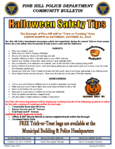 10.16.2015 Halloween Safety Tips